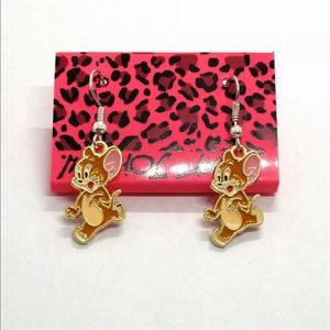 tom and jerry betsey johnson earrings